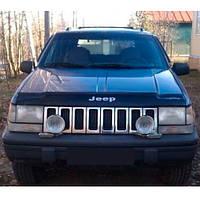 Дефлектор капота, мухобойка Jeep Grand Cherokee (ZJ) с 1993–1998 г.в.