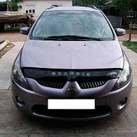 Дефлектор капота, мухобойка Mitsubishi Grandis с 2003–2011 г.в.