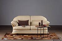 Кожаный диван Нью-Йорк, не раскладной диван, мягкий диван, мебель из кожи