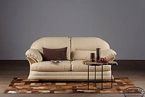 Кожаный диван, не раскладной диван, мягкий диван, мебель из кожи, диван, фото 3