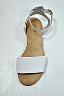 Белые кожаные сандалии , фото 1