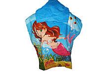 Пляжное полотенце-пончо для девочки, Crivit, 60х120 см, арт. Л-029