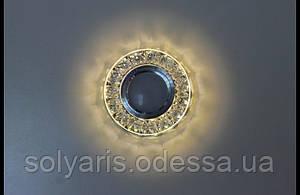 Очечный светильник с LED подсветкой декоративной части A147 Black