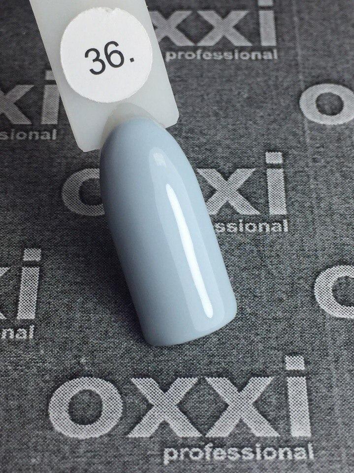 Гель-лак Oxxi Professional № 36 (нежно-голубой), 10 мл
