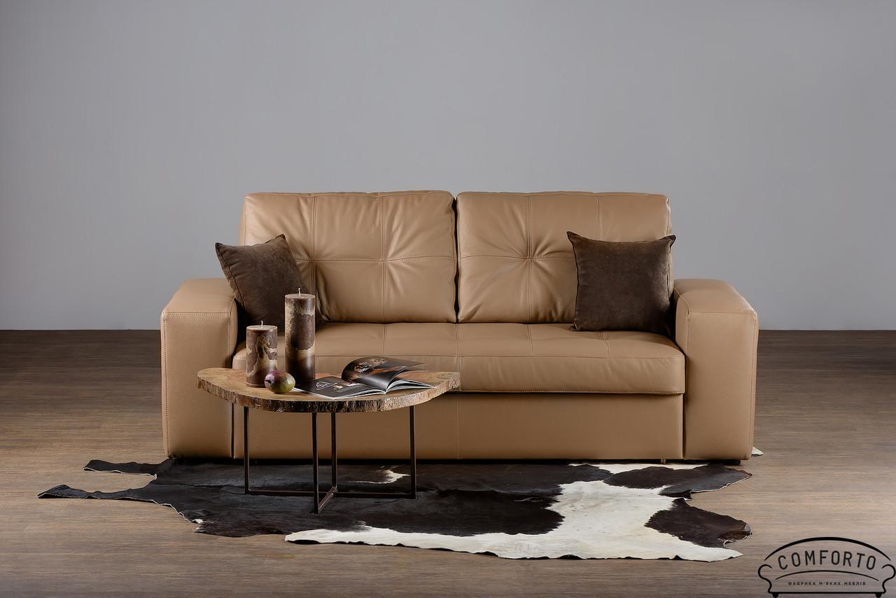 """Шкіряний прямий диван """"California"""" (Каліфорнія) (214 см)"""