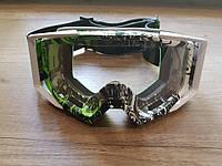 Горнолыжная маска с прозрачным стеклом