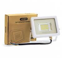 LED прожектор VIDEX 20W 5000K 220V White, фото 1