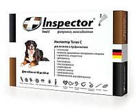 Inspector Total C (Инспектор) Капли для собак весом 40-60 кг от блох, клещей и гельминтов