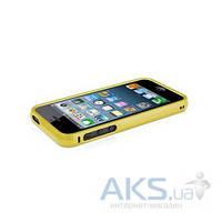 Чехол Macally Bampers Apple iPhone 5, iPhone 5S, iPhone SE Gold (RIMALUMG-P5)