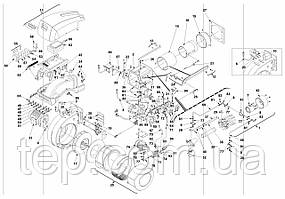 Запасные части к горелке Riello RLS/E MX