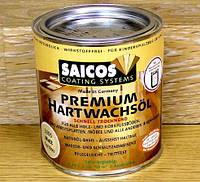 Масло воск для паркета и деревянных изделий SAICOS HARTWACHSOL premium, Matt, 2,5 л