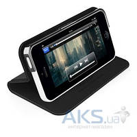 Чехол Macally Slim Folio Case and Stand for iPhone 5C Black (SCOVERP6-B)