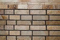 """Плитка Галтованая сланец """"Золотые пески"""" KLVIV ANTIK шир. 6 см. 0, 5 м.кв"""