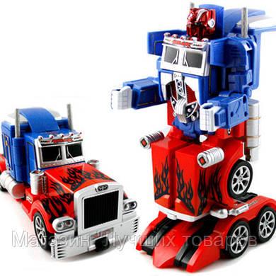 Радиоуправляемый робот-трансформер Bambi Optimus Prime 28128!Акция