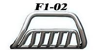 Кенгурятник BMW X5 2000-2006 усиленный (WT002 d51 x 2мм)