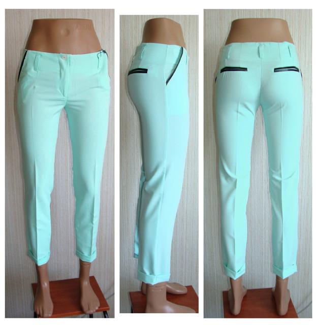Укроченные брюки классика