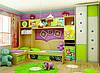 Мебель для детской комнаты по индивидуальному проекту.