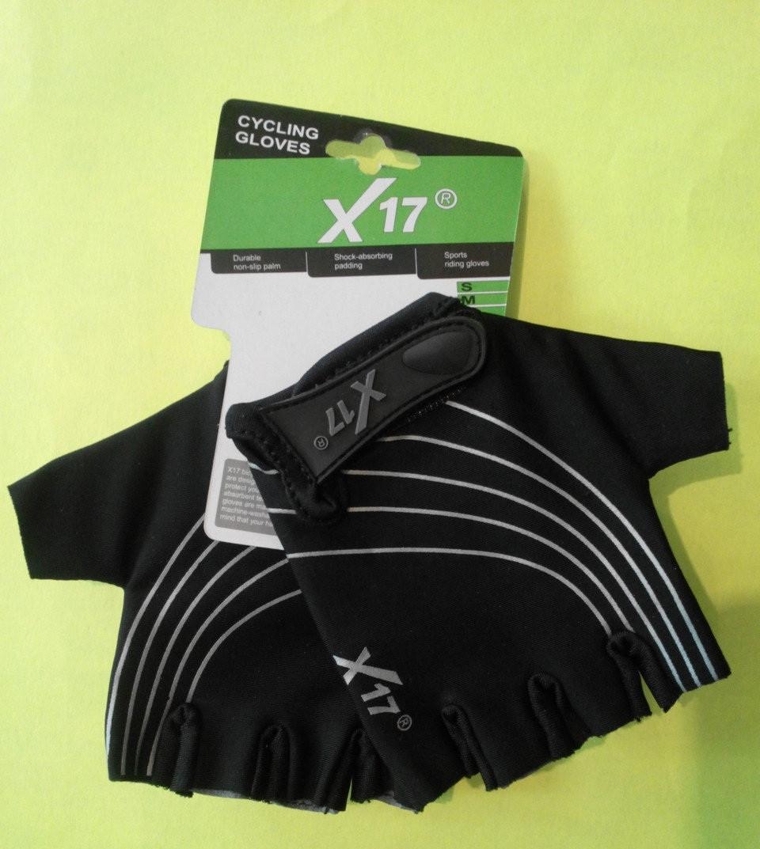 Перчатки X17 XGL-118BK детские  чёрные M