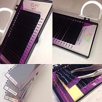 Ресницы для наращивания в ленте I-Beauty Diamond Silk Микс от 9-13  изгиб СC