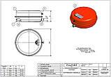"""Расширительный бак для систем отопления ZILMET OEM–Pro 541 (12 л, 3/4""""), фото 3"""