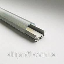 Линза (светорассеиватель) для LED профиля Z200 прозрачная