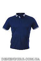 Футболка-поло мужская ARMANI 1019 синяя, фото 1