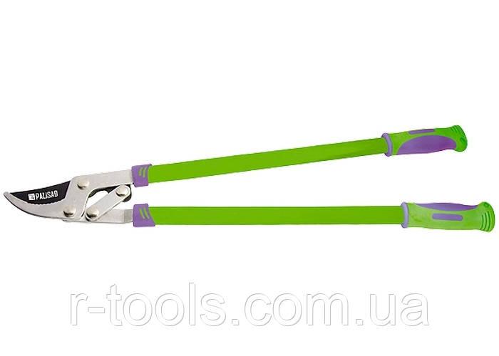 Сучкорез 750 мм с прямым резом рычажный мех усиленное лезвие двухкомпонентные ручки PALISAD 605228