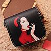 Маленькая сумочка через плечо с оригинальным принтом, фото 6