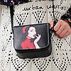 Маленькая сумочка через плечо с оригинальным принтом, фото 7