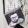 Маленькая сумочка через плечо с оригинальным принтом, фото 3