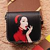 Маленькая сумочка через плечо с оригинальным принтом, фото 9