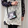 Маленькая сумочка через плечо с оригинальным принтом, фото 4