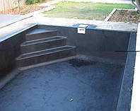 Гидроизоляция жидкой резиной: басейнов, прудов.