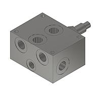 Плита с предохранительным клапаном под ДУ6  BS030/70
