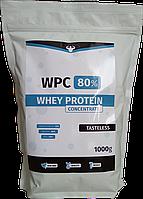 Протеин WPC 80% Голладнія 1кг. Полуниця