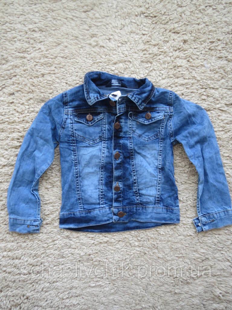 Sercino 7-12 джинсовый пиджак детский для мальчиков