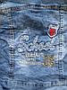 Sercino 7-12 джинсовый пиджак детский для мальчиков, фото 3
