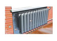 Экран теплоотражающий с алюминиевой фольгой для радиатора 950*500 (шт.)