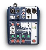 Новые микшерные пульты Soundcraft Notepad (5, -8FX и -12FX)