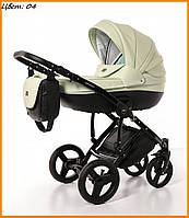 Детская коляска Broco Dynamiko 2 в 1 04 салатовый