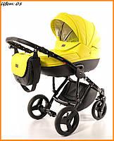 Детская коляска Broco Dynamiko 2 в 1 05 желтый
