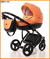 Детская коляска Broco Dynamiko 2 в 1 06 оранжевый