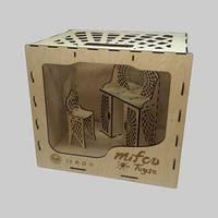 Набор деревянной мебели для кукол Монстер Хай (трюмо и туалетный стул)