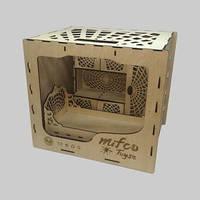 Набор деревянной мебели для кукол Монстер Хай (кровать и шкаф)