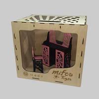 Набор яркой деревянной мебели для кукол Монстер Хай