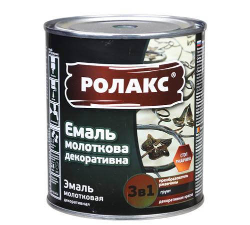 """Емаль молоткова декоративна """"Ролакс"""" 3 в 1, фото 2"""