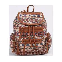 Рюкзак ,1 відд., 34*28*14см,  Canvas/PU, 9799, SAF