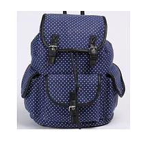 Рюкзак ,1 відд., 34*28*16см, Canvas/PU, 97001, SAF