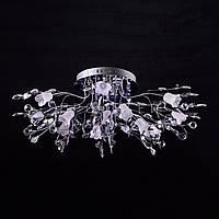Галогенная люстра с диодной подсветкой (лампочки в комплекте) P5-Y0614/13 CH/LOW
