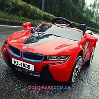 Электромобиль детский BMW 1888 Красный